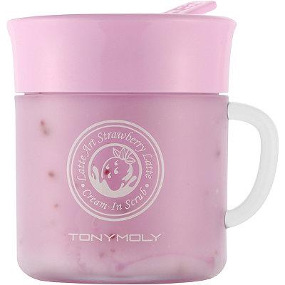 TONYMOLYLatte Art Strawberry Cream-in-Scrub