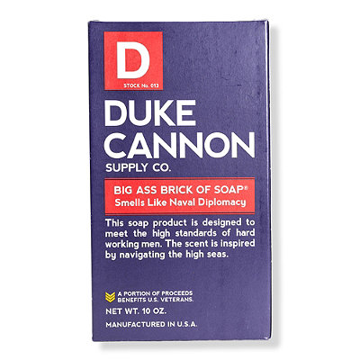 Duke Cannon Supply CoOnline Only Big Ass Brick of Soap - Smells Like Naval Supremacy