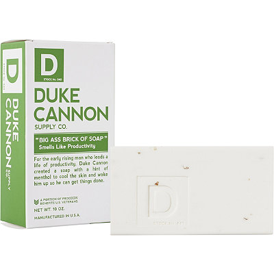Duke Cannon Supply Co Online Only Big Ass Brick of Soap - Smells Like Productivity