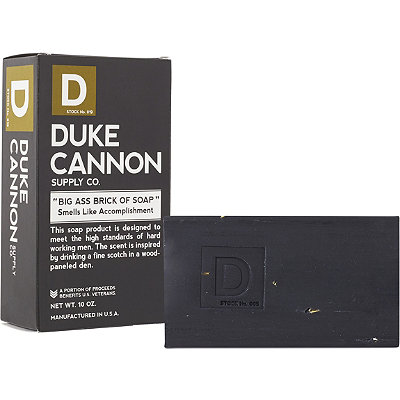 Duke Cannon Supply Co Online Only Big Ass Brick of Soap - Smells Like Accomplishment