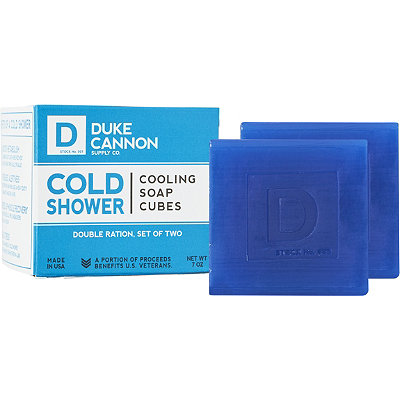 Duke Cannon Supply Co Online Only Cold Shower Cooling Cubes