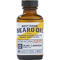 Online Only Best Damn Beard Oil by Duke Cannon Supply Co