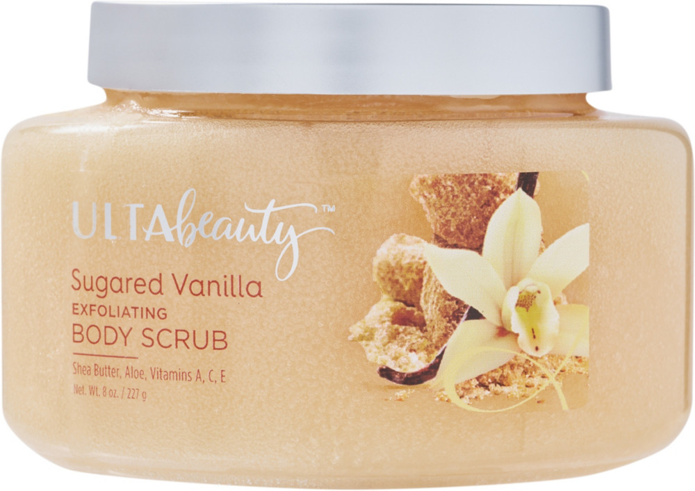 Ulta Sugared Vanilla Exfoliating Body Scrub Ulta Beauty