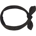 Headbands of Hope Black Tied Headwrap with Gold