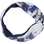 Headbands of Hope Multi Blue Colored Headwrap with Silver