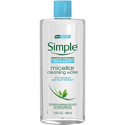 Simple Water Boost Sensitive Skin Micellar Cleansing Water