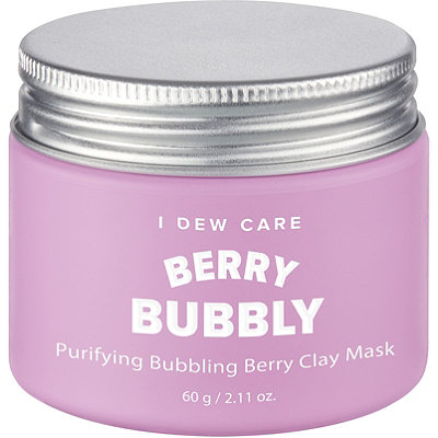 MEMEBOXI Dew Care Berry Bubbly Clay Mask