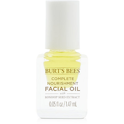 FREE Deluxe Nourishing Facial Oil w/any $15 Burt's Bees purchase