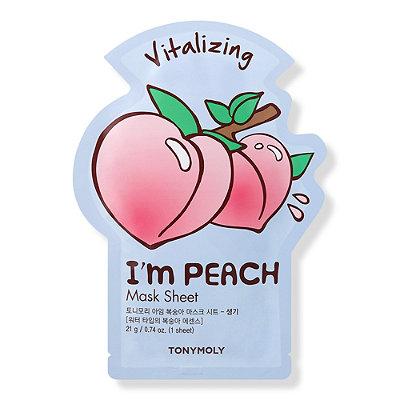 I'm Real Peach Sheet Mask