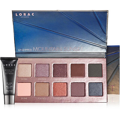 Lorac Online Only Unzipped Mountain Sunset Palette