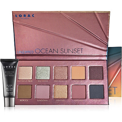 Lorac Online Only Unzipped Ocean Sunset Palette
