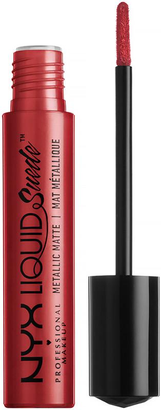 Nyx Professional Makeup Liquid Suede Metallic Cream Lipstick Ulta