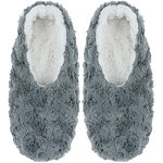Grey Faux Bunny Pull On