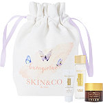 Online Only%21 FREE Skincare Trio Bag w%2Fany %2460 Skin and Co. purchase