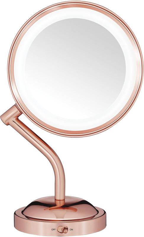 conair rose gold 1x 5x led mirror ulta beauty