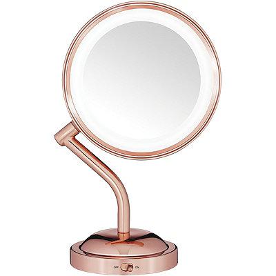 Rose Gold 1X / 5X LED Mirror