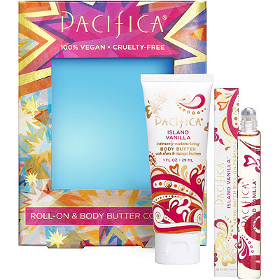 PacificaIsland Vanilla Roll-On %26 Body Butter Set