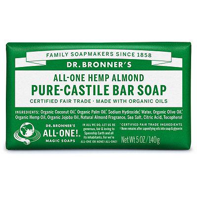 Dr. Bronner'sAlmond Pure-Castile Bar Soap