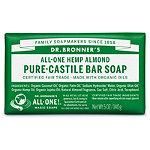 Almond Pure-Castile Bar Soap