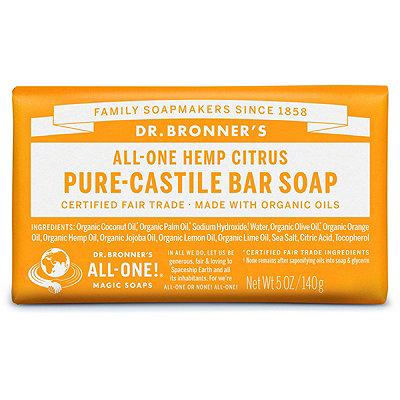 Dr. Bronner'sCitrus Pure-Castile Bar Soap