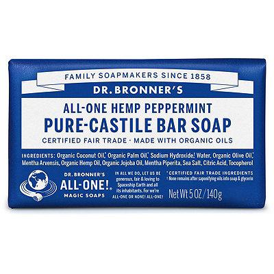 Dr. Bronner'sPeppermint Pure-Castile Bar Soap