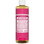 Dr. Bronner's Rose Pure-Castile Liquid Soap 16 oz