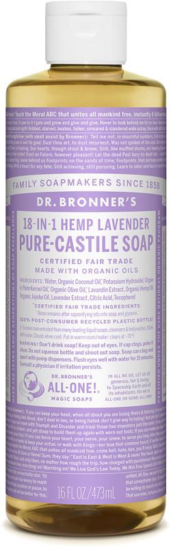 Lavender Pure-Castile Liquid Soap