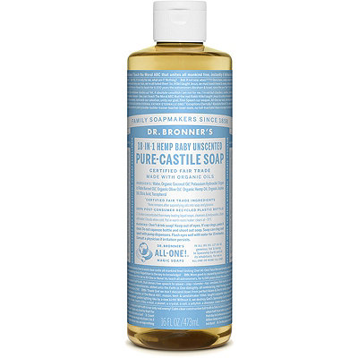 Dr. Bronner'sBaby Unscented Pure-Castile Liquid Soap