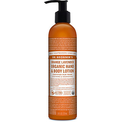 Dr. Bronner's Orange lavender Lotion