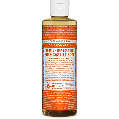 Dr. Bronner's Tea Tree Pure-Castile Liquid Soap