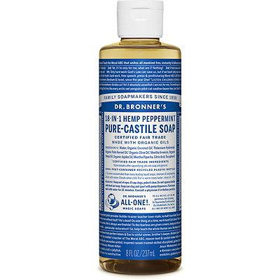 Peppermint Pure-Castile Liquid Soap
