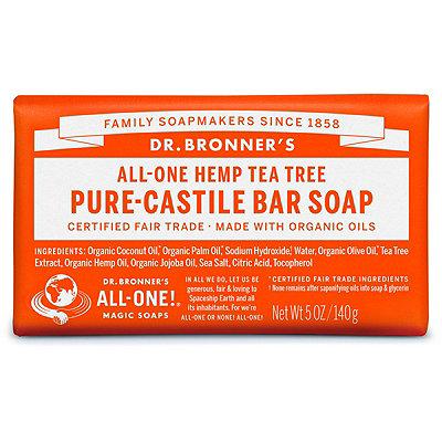Dr. Bronner'sTea Tree Pure-Castile Bar Soap