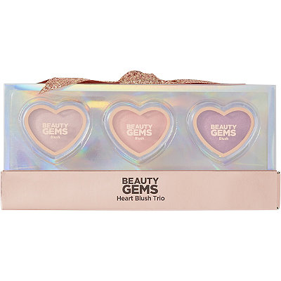 Beauty Gems Heart Blush Trio