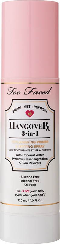 Hangover 3 In 1 Replenishing Primer & Setting Spray by Too Faced
