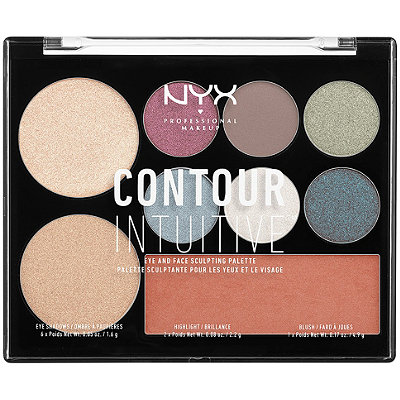 NYX Professional MakeupContour Intuitive Eye and Face Sculpting Palette