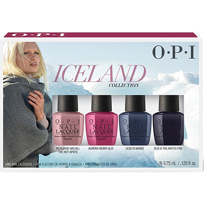 OPIIceland Collection Classic Nail Lacquer Mini 4 pk