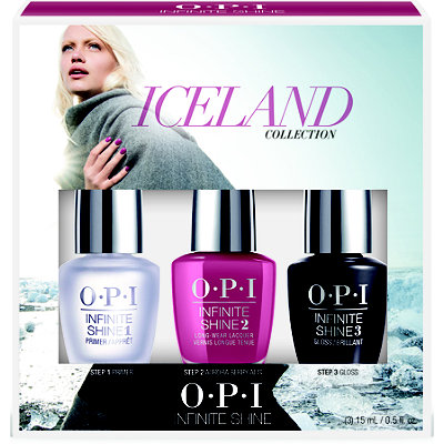 OPIIceland Infinite Shine Nail Lacquer Collection Tri Pack #1