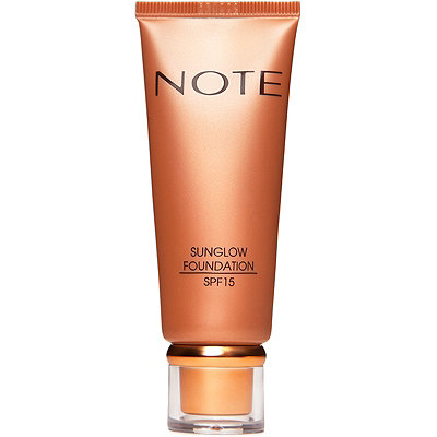 Note Cosmetics Online Only Sun Glow Foundation