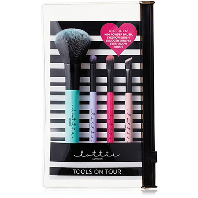 Lottie LondonOnline Only Tools On Tour Mini Brush Collection