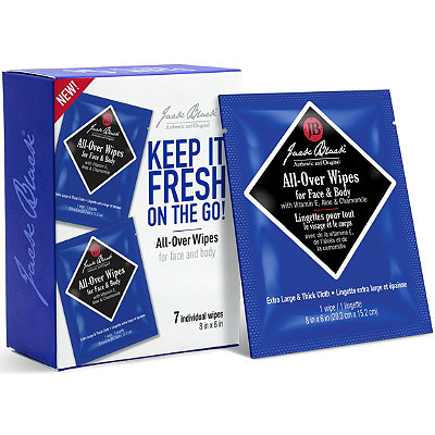 Jack BlackKeep It Fresh on the Go%21 All-Over Wipes for Face and Body