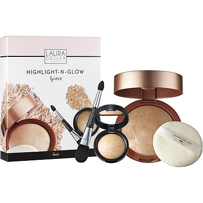 Laura Geller Online Only Highlight-N-Glow 3 Pc Kit