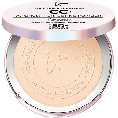 It Cosmetics Your Skin But Better CC%2B Airbrush Perfecting Powder Illumination with SPF 50%2B