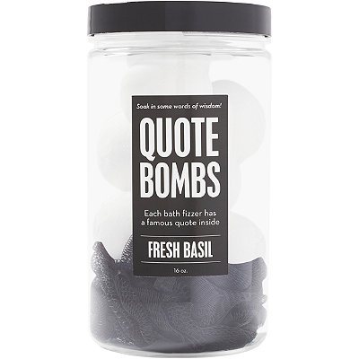 Quote Bombs Jar Bath Fizzers