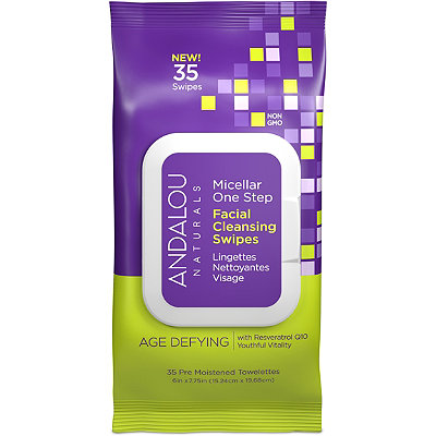 Andalou NaturalsOnline Only Age Defying Micellar Facial Swipes