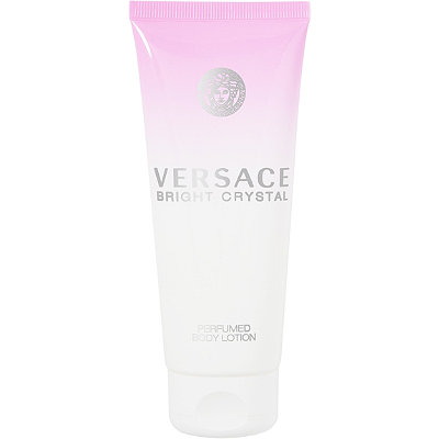Online Only! FREE Body Lotion w/any large spray Versace Bright Crystal fragrance collection purchase