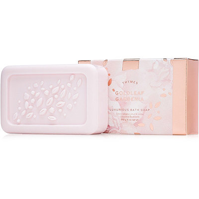 Thymes Goldleaf Gardenia Luxurious Bar Soap