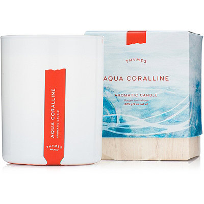 Thymes Aqua Coralline Aromatic Candle