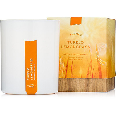 Thymes Tupelo Lemongrass Aromatic Candle