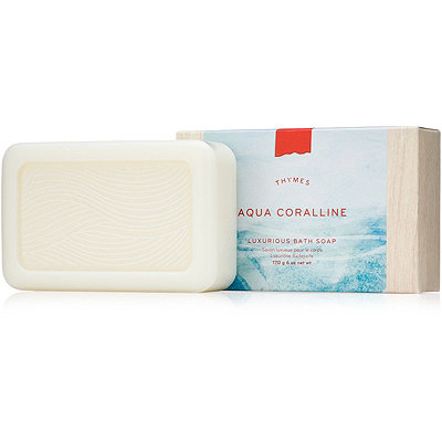 Thymes Aqua Coralline Luxurious Bar Soap