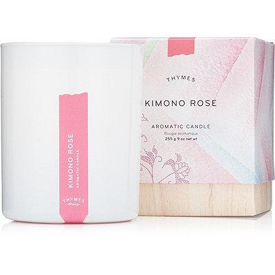 Kimono Rose Aromatic Candle